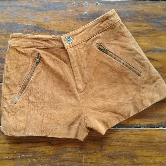 Forever 21 Pants - Suede-like Shorts